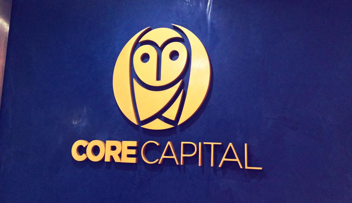 Brandeo logotipo corporeo 3d core capital lima peru